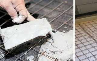 Армирование стяжки пола: использование сетки