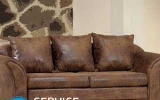 Как отремонтировать кожаный диван от царапин животных