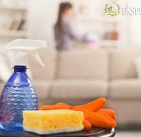 Как почистить диван содой и уксусом
