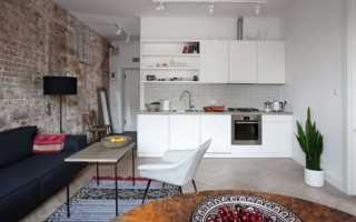Дизайн интерьера квартиры студии, как обустроить квартиру студию