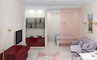 Идеи расстановки мебели в однокомнатной квартире