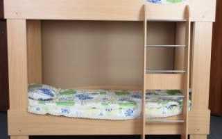 Как собрать двухъярусную кровать инструкция
