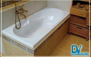 Особенности установки ванны