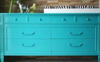 Покраска полированной мебели своими руками