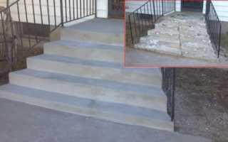 Ремонт ступеней лестницы