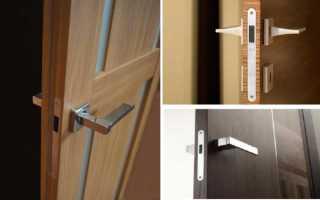 Магнитный замок на дверь – правила выбора врезного замка для межкомнатной двери