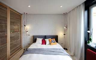 Как оформить спальню в небольшой комнате