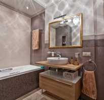 Ванные комнаты в коричневых тонах