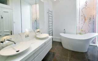 Особенности применения жидких обоев для ванной комнаты