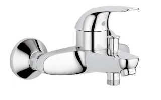 Смеситель для ванной комнаты: монтаж и крепление