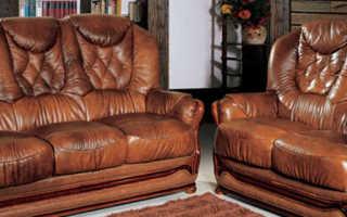 Обивка мебели кожей своими руками