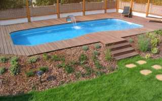 Бассейн для загородного дома – купить или построить?