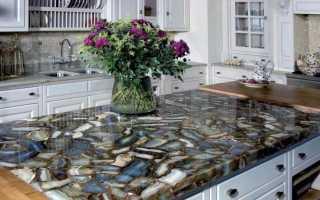 Как обновить столешницу на кухне своими руками