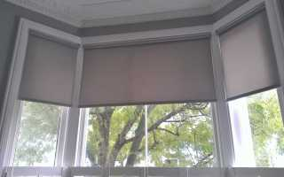 Фото обзор рулонных штор в интерьере