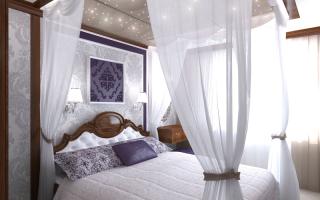 Как называется тюль над кроватью