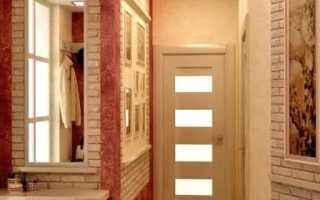 Мебель прихожая в длинный узкий коридор