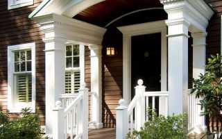 Варианты крыльца в частном доме