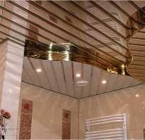 Алюминиевые потолки своими руками