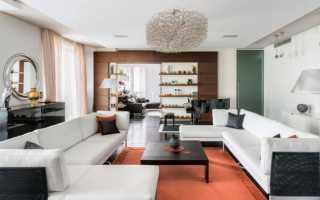 Модные интерьеры гостиных