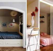 Ниши в интерьере спальни