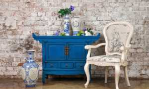 Покраска мебели в стиле прованс своими руками