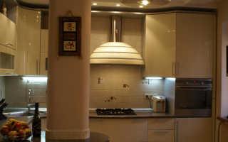 Как закрыть трубы на кухне в углу