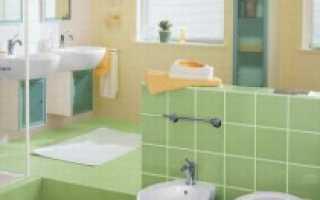 Укладка плитки на стену: в ванной, на кухне