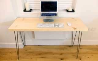 Как сделать письменный стол своими руками чертежи