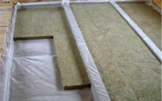 Как утеплить межэтажное перекрытие – по полу и потолку