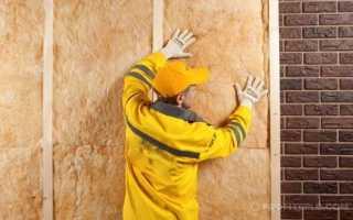 Как утеплить кирпичную стену изнутри — инструкция от профессионалов
