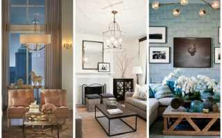 Секреты освещения гостиной