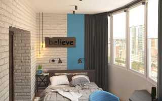 Лоджия-спальня: как сделать?