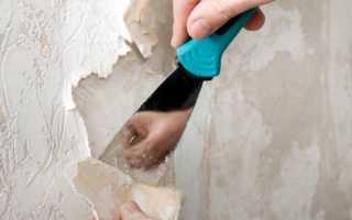 Как снять со стен флизелиновые обои, демонтаж полотен