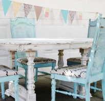 Как состарить мебель в домашних условиях