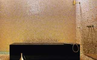 Плитка мозаика для отделки ванной комнаты: особенности выбора и монтажа