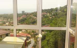 Панорамное остекление лоджии и балкона