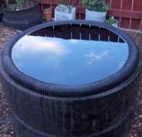 Бассейн из подручных материалов своими руками – покрышки, ванны, бетонного кольца