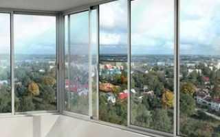 Виды остекления лоджии и балконов