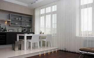 Нитяные и веревочные шторы в интерьере