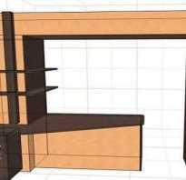 Варианты объединения кухни и балкона