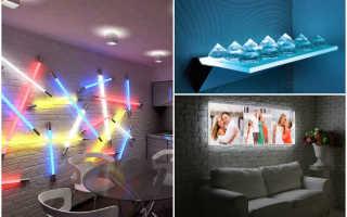 Свет в интерьере квартиры