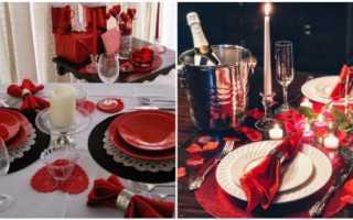 Как сделать ужин при свечах дома
