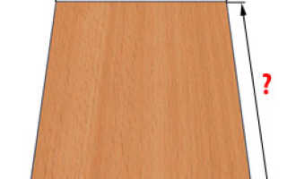Размер листа ламината для мебели