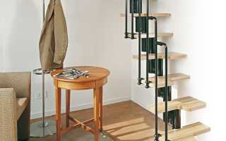 Создание лестницы «гусиный шаг»: обзор материалов и технологий (20 фото)