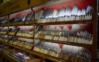 Нож янаги-ба: простота совершенства