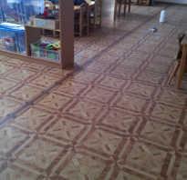 Пайка линолеума в домашних условиях