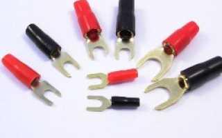 Технология оконцевания жил проводов и кабелей