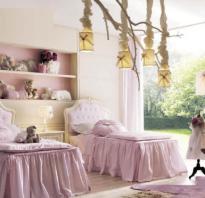 Идеи интерьера детских комнат в классическом стиле