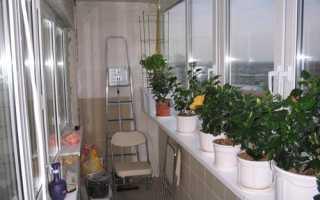 Освещение на балконе своими руками: дизайн