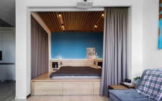 Расстановка мебели в однокомнатной квартире с нишей